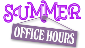 Summer Hours for ACMS Office