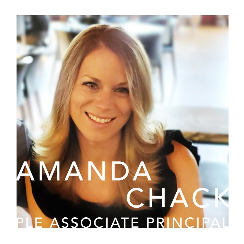 AMANDA CHACK HIRED AS NEW PLE ASSOCIATE PRINCIPAL