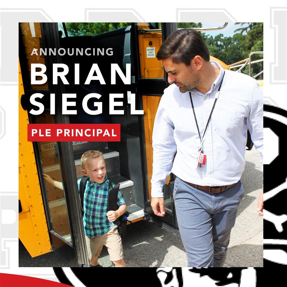 BRIAN SIEGEL HIRED AS NEW PLE PRINCIPAL