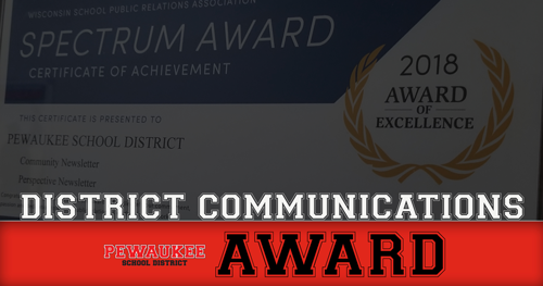 District Wins Spectrum Awards For Communications