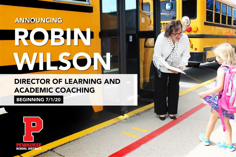 ROBIN WILSON TO ASSUME ROLE OF DIRECTOR OF LEARNING AND ACADEMIC COACHING