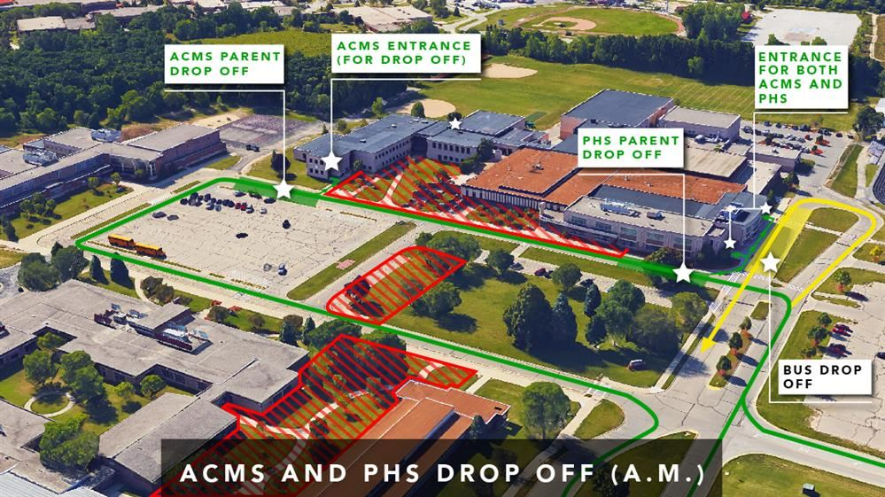 ACMS and PHS Drop Off (AM)