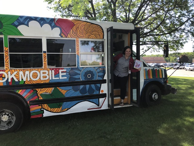 Visit the Bookmobile this summer!