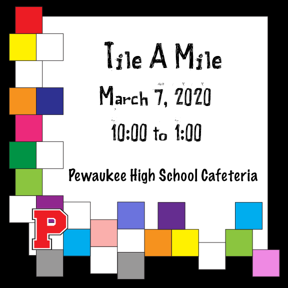 Come join PHS at their Tile-A-Mile event!
